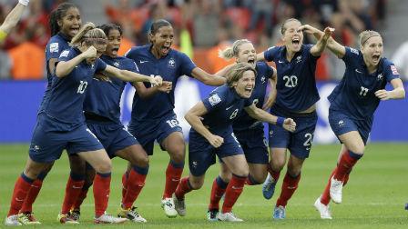 Footeo l 39 heure f minine - Coupe du monde de football feminin ...